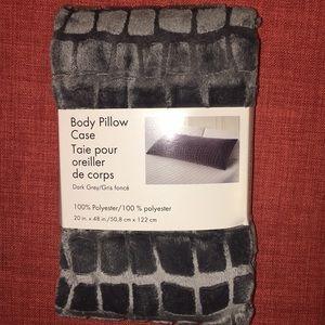 Other - Body Pillow Case - Dark Grey
